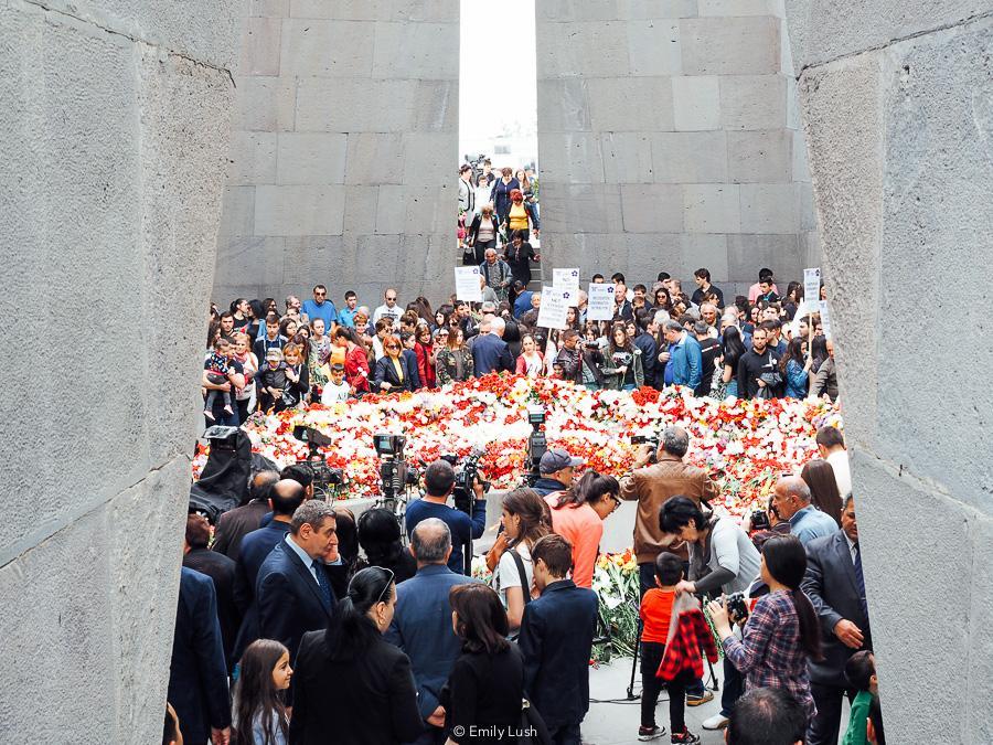 © Emily Lush 2018   Genocide Memorial   Things to do in Armenia Yerevan