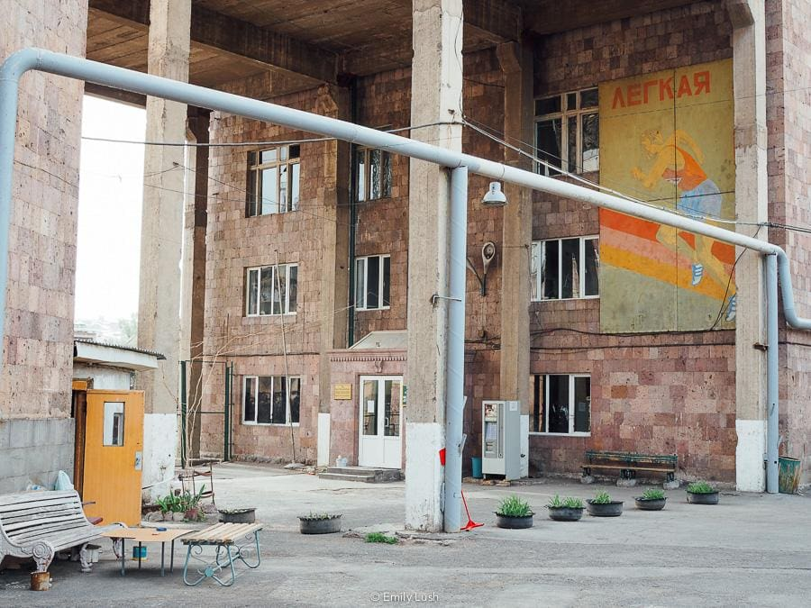 © Emily Lush 2018   Soviet architecture   Things to do in Armenia Yerevan