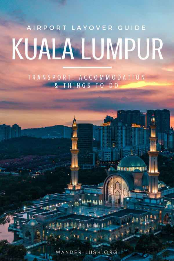 Planning a layover in Kuala Lumpur? Here are 9 alternative (and mostly free) things to do with a few hours in Malaysia's capital. This complete KL layover guide also covers everything you need to know about KLIA2 airport—including transport, luggage, money and accommodation advice.