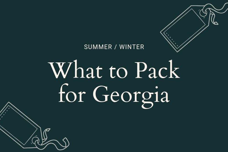 Georgia packing list