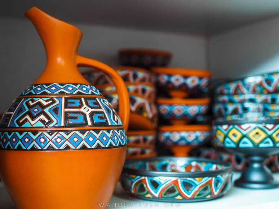 Made in Georgia: Georgian Ceramics at ORKOL Studio, Zugdidi
